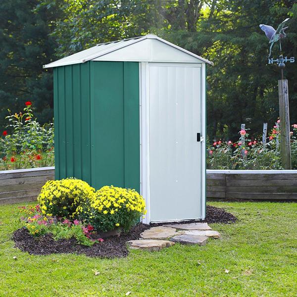 Μεταλλική αποθήκη κήπου Arrow Dresden 54 RMG54EU (151 x 122 x 198 cm)
