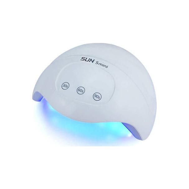 Φουρνάκι Νυχιών για GEL και Ημιμόνιμο Βερνίκι 24/30 watt με 15 Leds – UVLED SUN5 mini