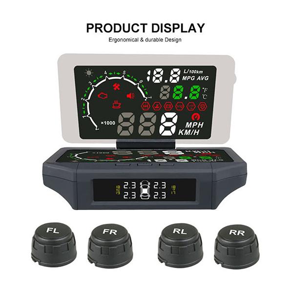 Οθόνη HUD X360 Head Up Display Set Αυτοκινήτου