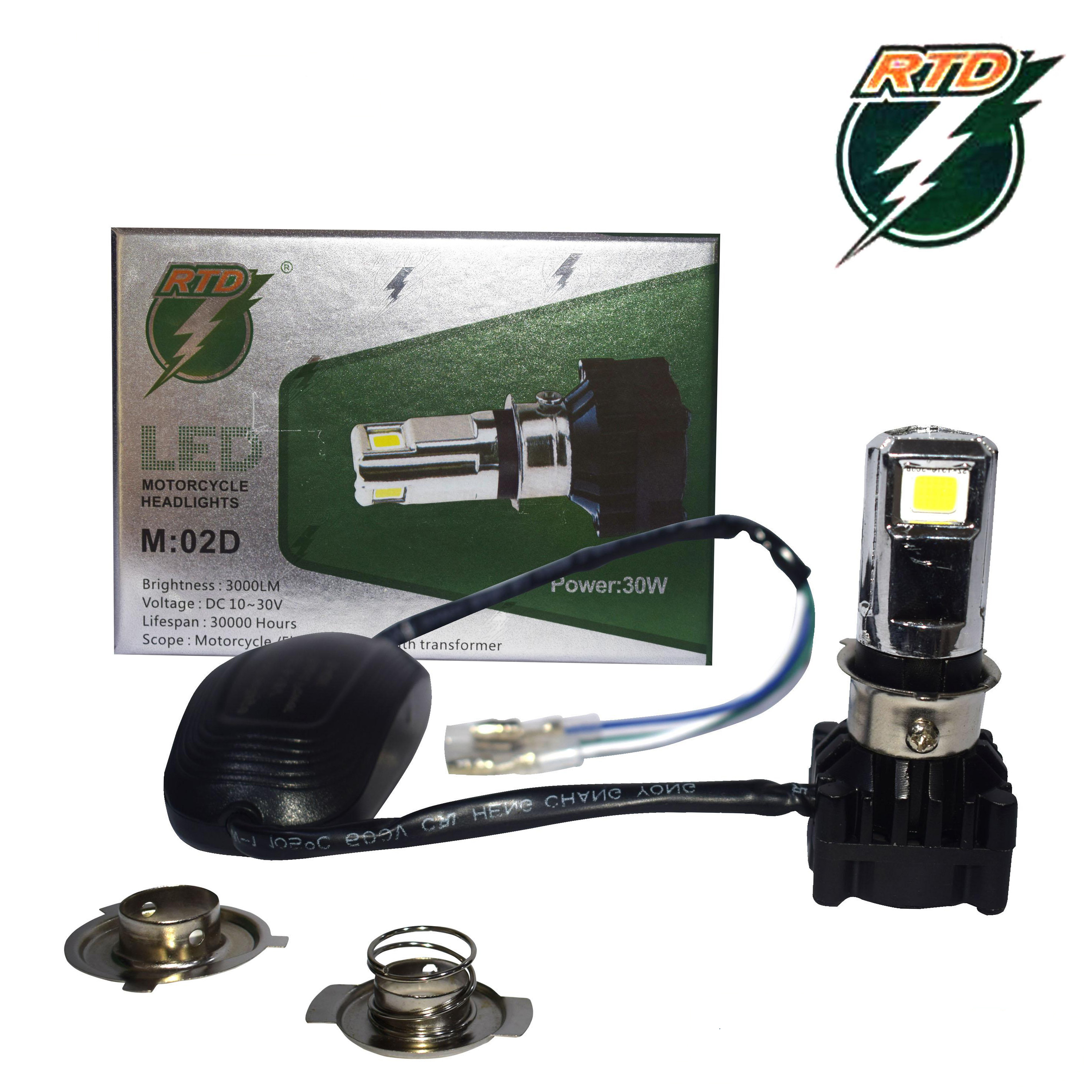 ΦΩΤΑ ΜΗΧΑΝΗΣ RTD MOTORCYCLE LED HEADLAMP