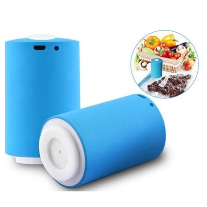 Συσκευή σφραγίσματος τροφίμων με κενό αέρα - Μπλε