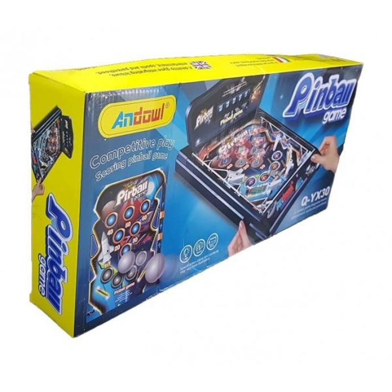 Επιτραπέζιο Φλίπερ Με Φωτάκια και Ήχους - Table Electronic Pinball