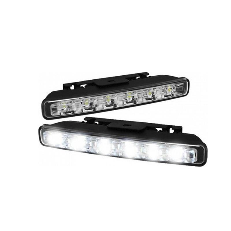 Προβολάκια - Φώτα Ημέρας Αυτοκινήτου Σετ 2 Τμχ LED Daytime Running Lights WJD LED-240