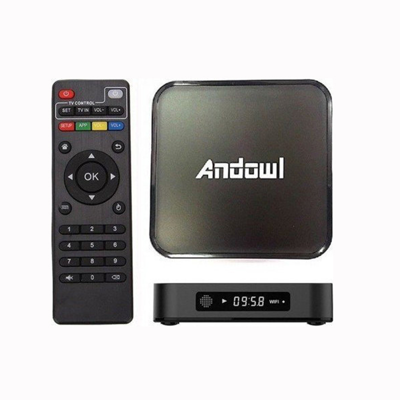 Tv Box 4K HD 7.1.2 3GB Ram/ 32GB Rom – Andowl Q-3