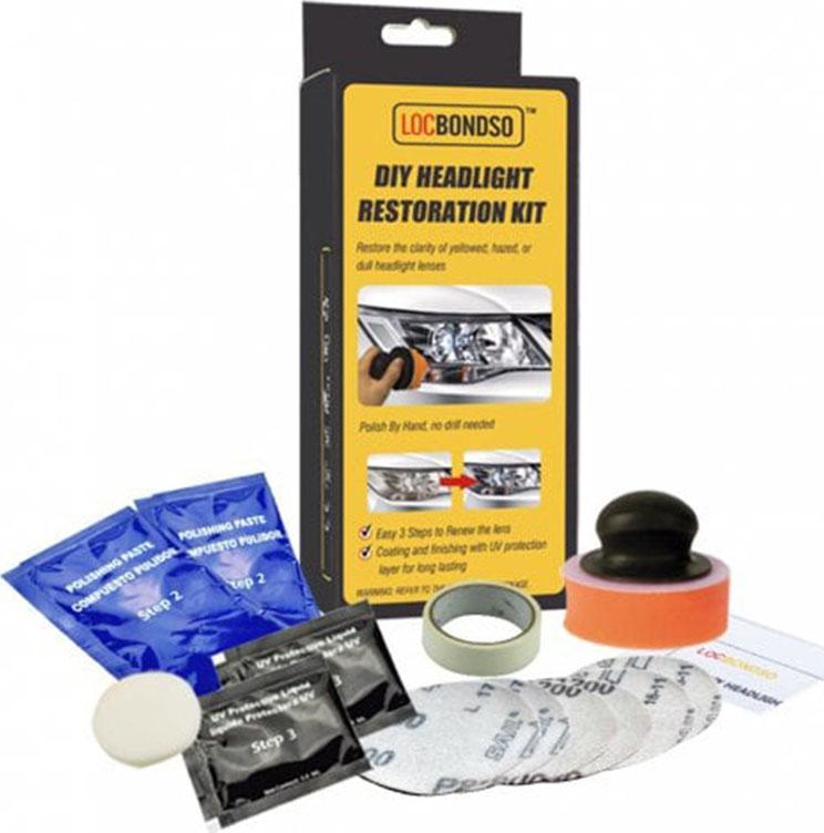 Locbondso DIY Headlight Restoration Kit