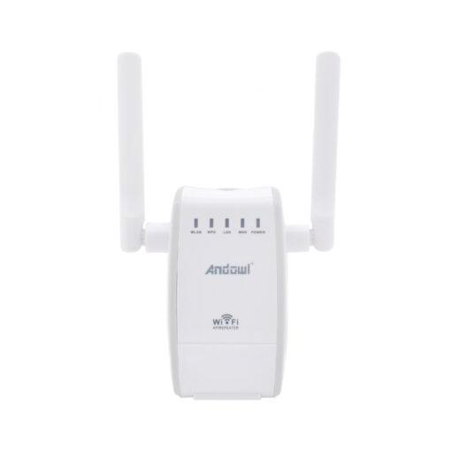 Ασύρματο WiFi N Router/Repeater 300Mbps Andowl Q-A225 – Λευκό