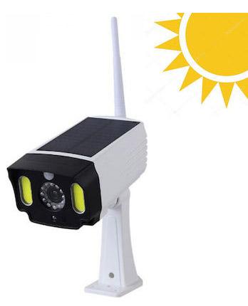 CTK-PS-T28-OEM ΑΔΙΑΒΡΟΧΗ ΗΛΙΑΚΗ ΨΕΥΤΙΚΗ ΚΑΜΕΡΑ ΑΣΦΑΛΕΙΑΣ ΜΕ ΦΩΤΙΣΤΙΚΟ LED