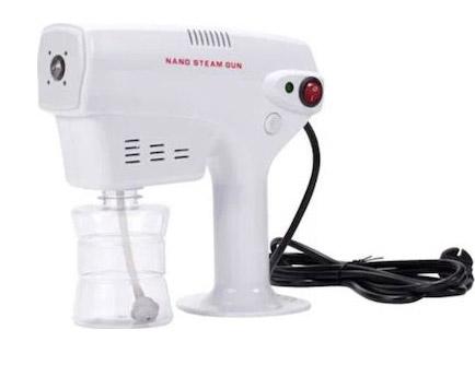 Hair Steamer για περιποίηση και φροντίδα μαλλιών Nano Steam Gun