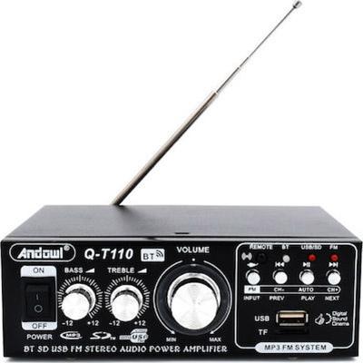 Andowl Τελικός Ενισχυτής Hi-Fi Stereo Q-T110 Μαύρος