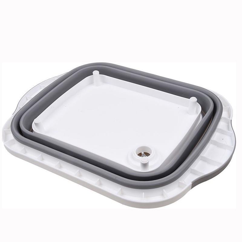Επιφάνεια Κοπής Πλαστική με Πτυσσόμενο Καπάκι 2 σε 1