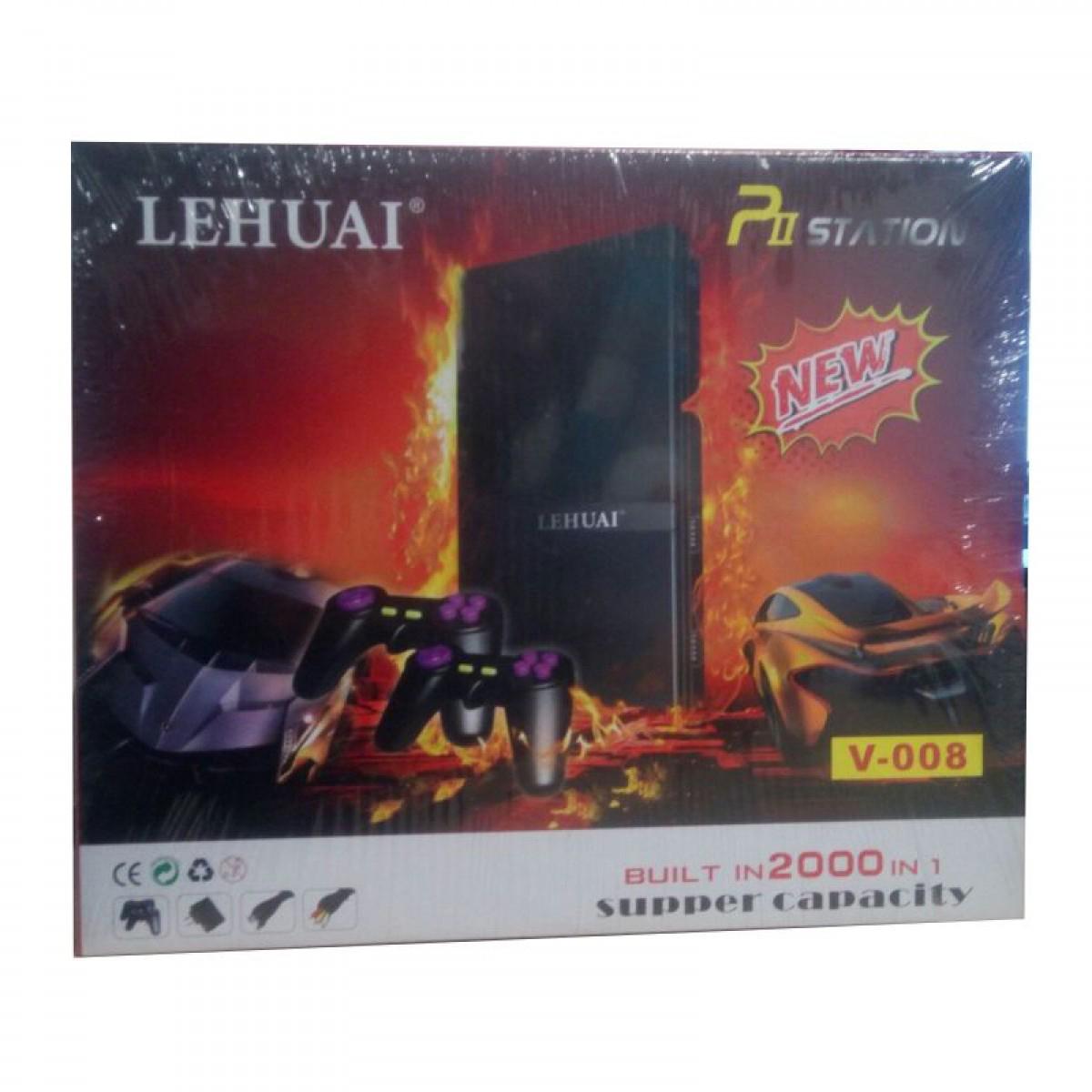 LEHUAI Pii Station V-008 κονσόλα με 2000 παιχνίδια