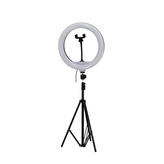 Επαγγελματικό Φωτιστικό Δαχτυλίδι Led 36cm Με Μεγάλο Τρίποδο Και Τηλεκοντρόλ - Ring Light Lamp YQ-360B