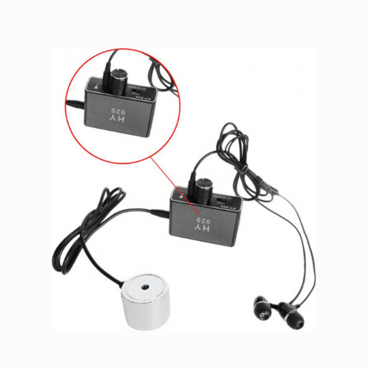Ανεξάρτητος ανιχνευτής διαρροών ήχου με ακουστικά HY929