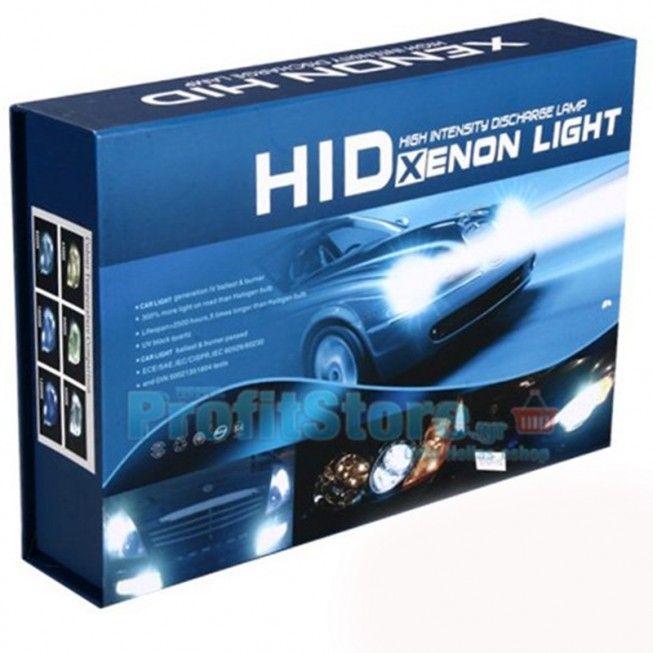 Kit Xenon H7 HID 6000k 55w Iron head e69