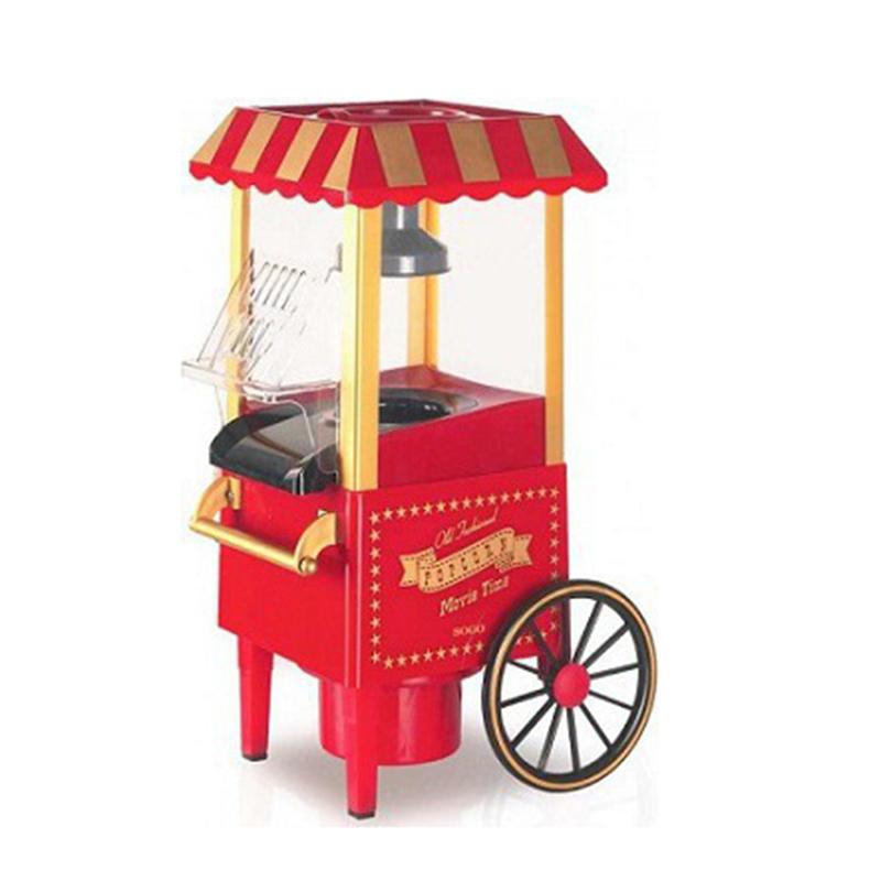 Παραδοσιακή Μηχανή Παρασκευής Ποπ Κορν - συσκευη για pop corn Old Fashioned Pop Corn maker Machine, 1200W