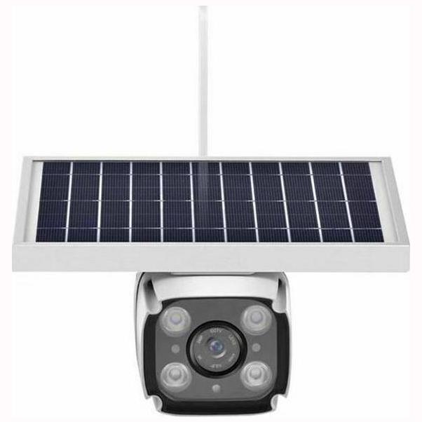 Ηλιακή κάμερα 4G αυτόνομη IP - WIFI εξωτερικού Χώρου - Αδιάβροχη - Νυκτός - Καταγραφή σε SD Card - Internet μέσω κάρτας SIM - Χωρίς Ρεύμα με ηλιακό πάνελ