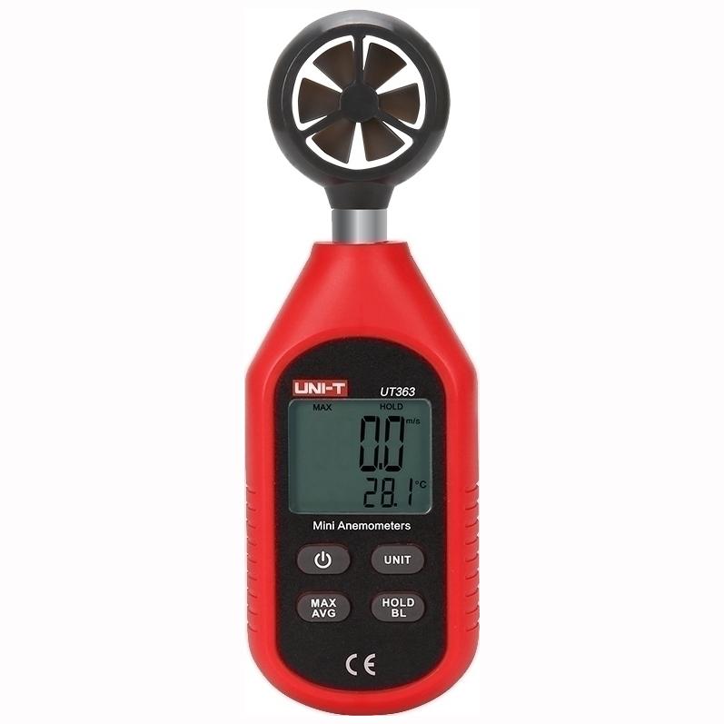 UNI-T mini ανεμόμετρο τσέπης UT363