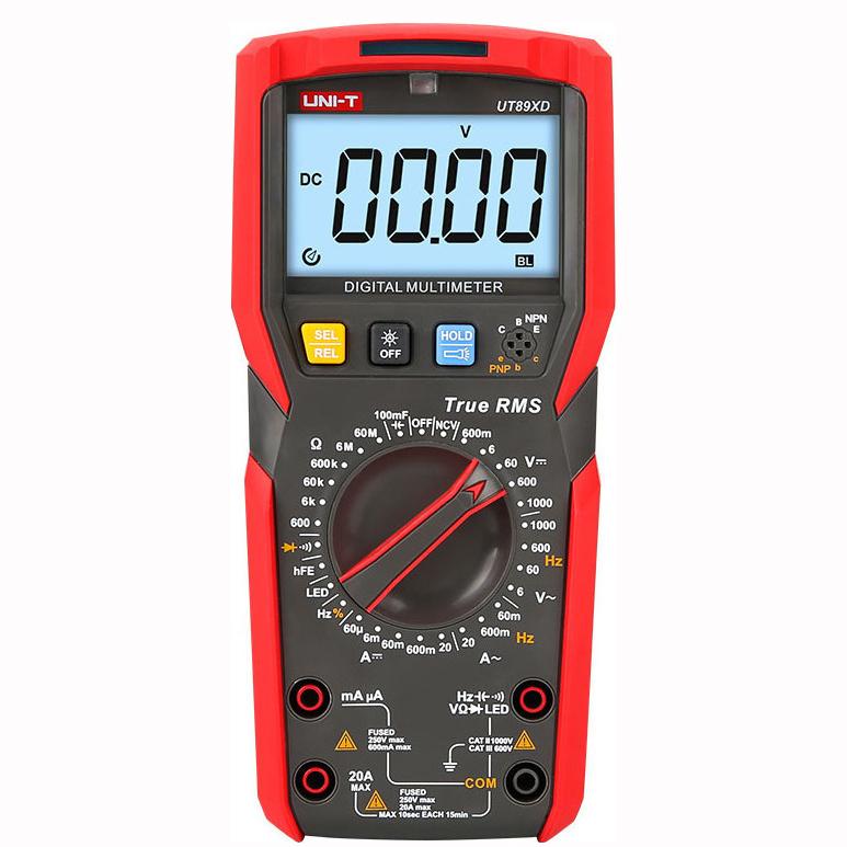 Ψηφιακό Πολύμετρο Υψηλής Ακρίβειας True RMS AC/DC Unit-T UT89XD