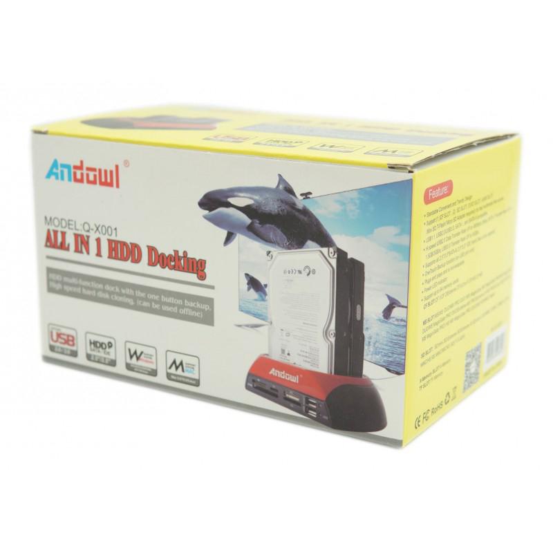 ALL IN 1 HDD DOCK ANDOWL AN-Q-X001 | AN-Q-X001