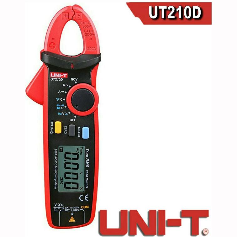 Ψηφιακό Πολύμετρο & Αμπεροτσιμπίδα UNI-T UT210D