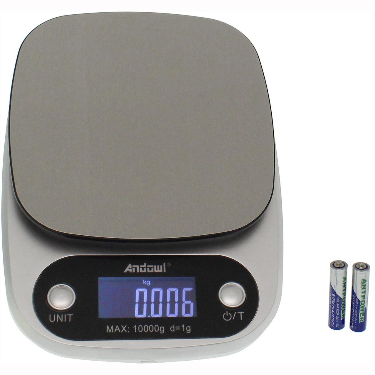 Ψηφιακή ζυγαριά κουζίνας 10 kg/1g Q-C305 ANDOWL