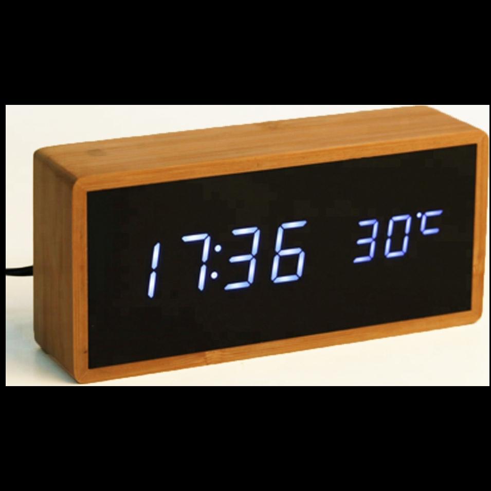 Ψηφιακό ρολόι - Bamboo clock
