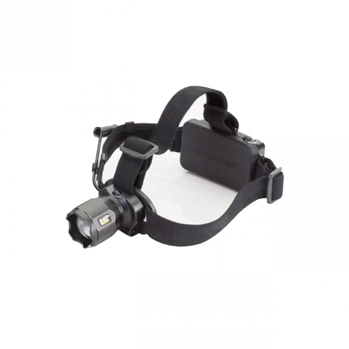 Φακός κεφαλής επαναφορτιζόμενος CREE LED 380 Lumens CT4205 CAT Lights