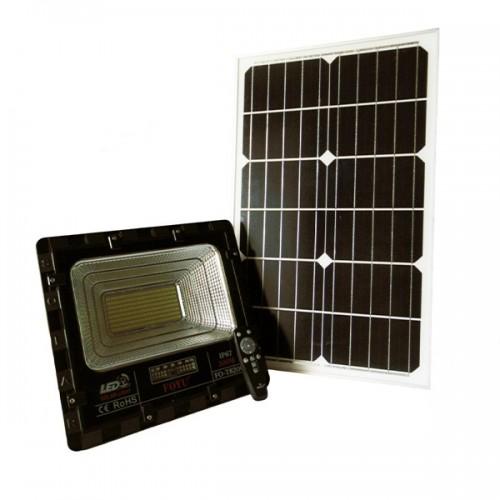 Προβολέας Ηλιακός LED 200w με Οθόνη & Τηλεχειριστήριο Αδιάβροχος FO-T8200 FOYU