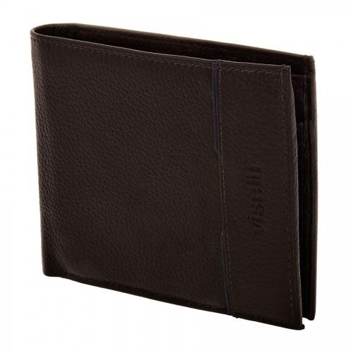 Δερμάτινο ανδρικό πορτοφόλι VISETTI LO-WA018M