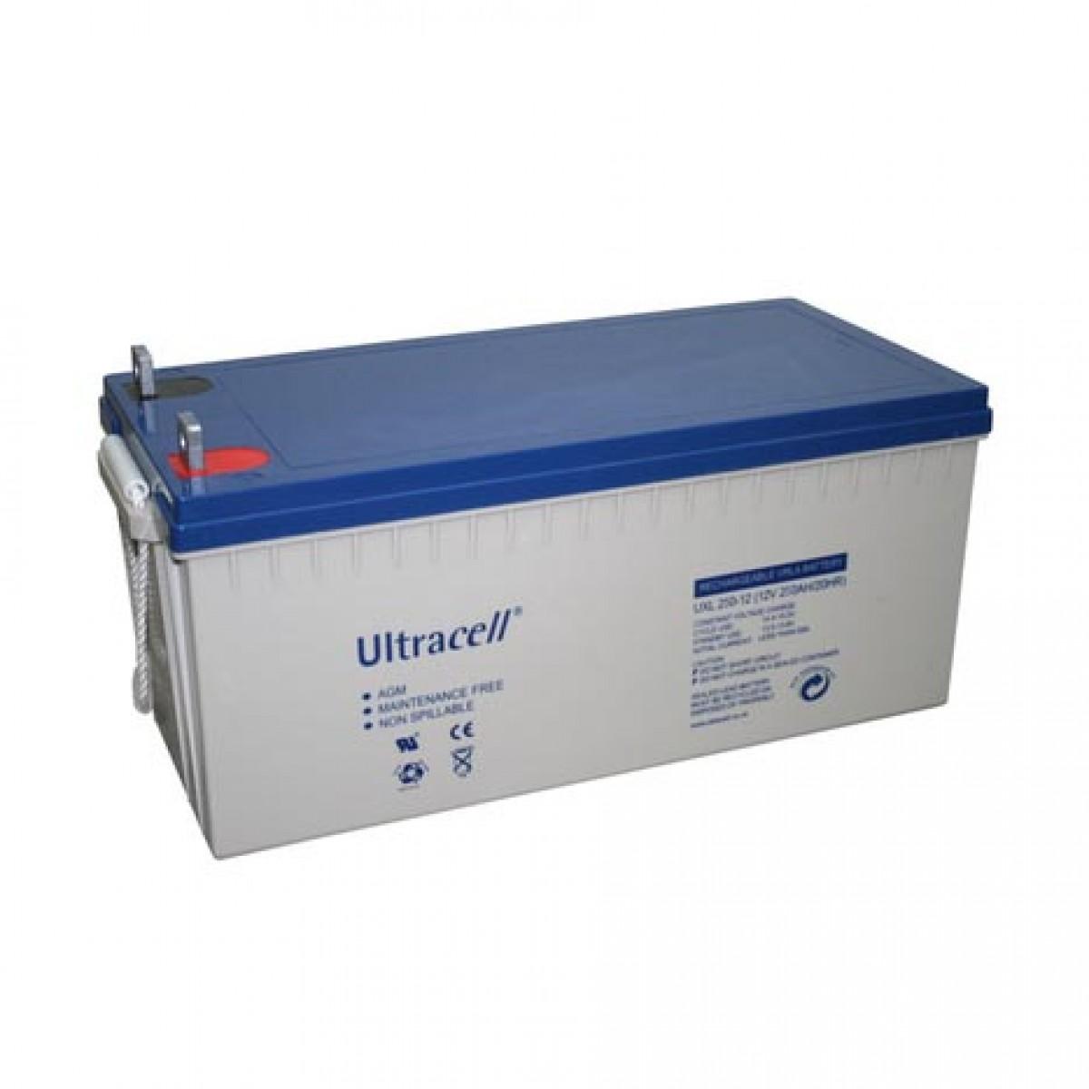 Μπαταρία ULTRACELL GEL UCG 12V - 200AH