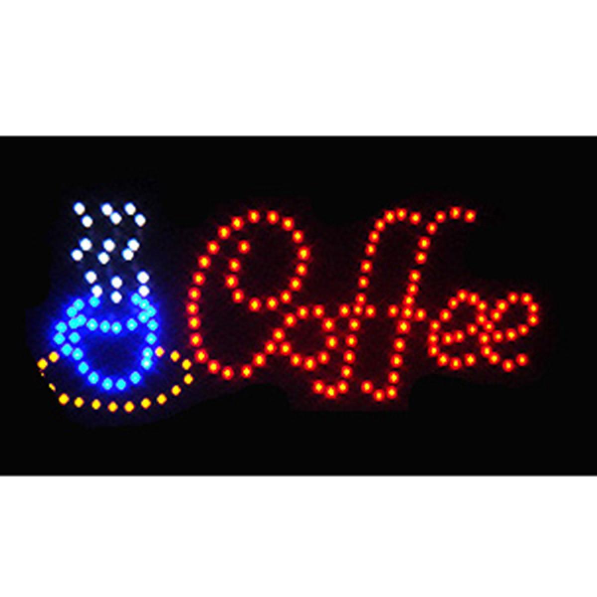 Φωτιζόμενη διαφημιστική πινακίδα LED '' COFFEE''-OEM