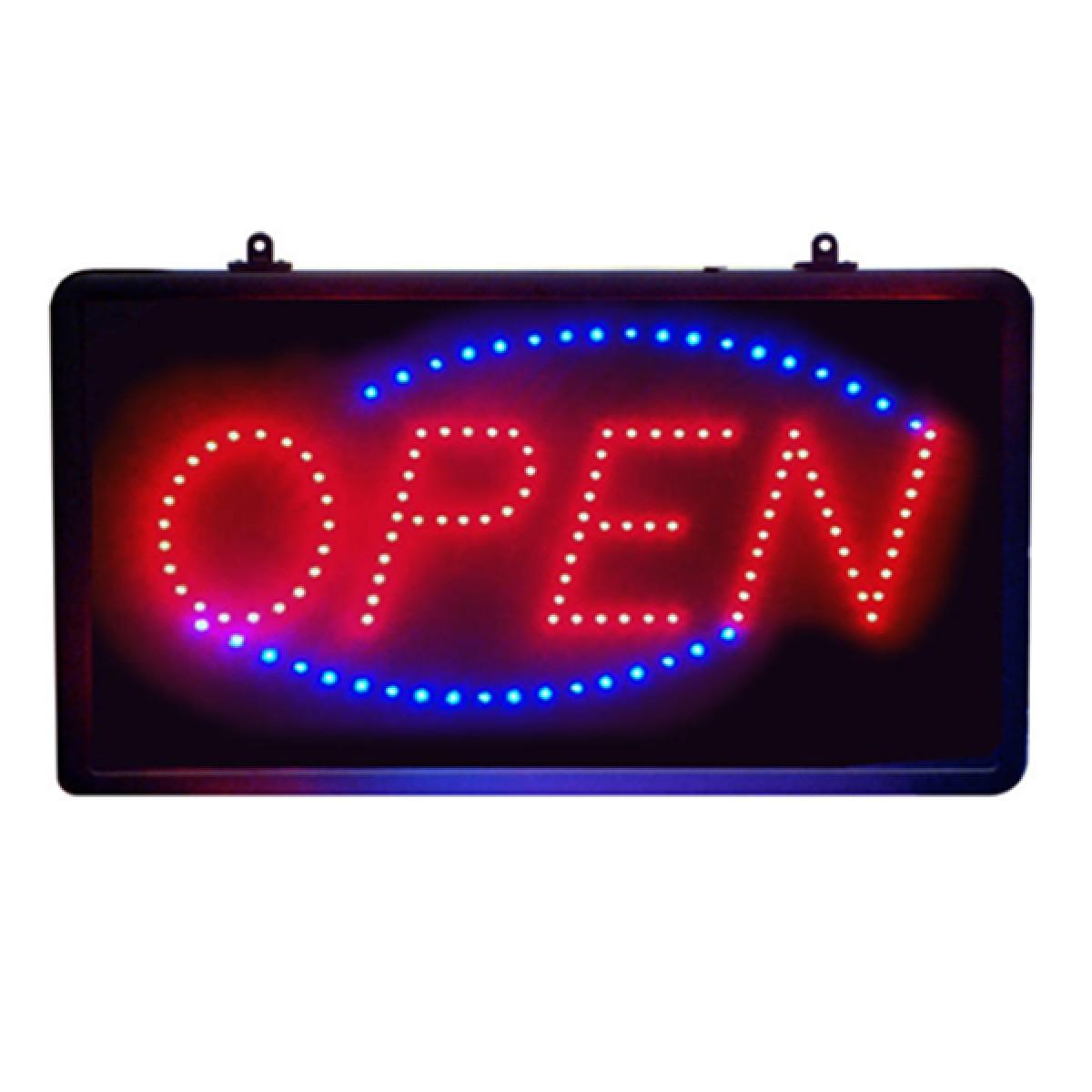 Φωτιζόμενη διαφημιστική πινακίδα LED ''OPEN''-OEM