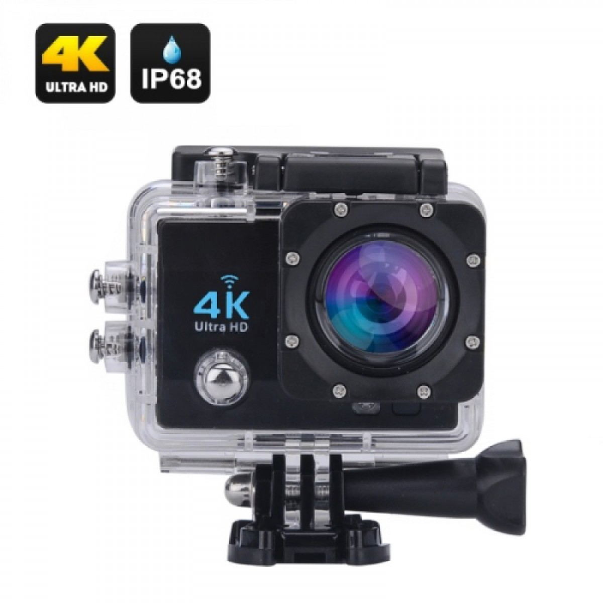 ACTION CAMERA 4K ULTRA WIFI-BLACK