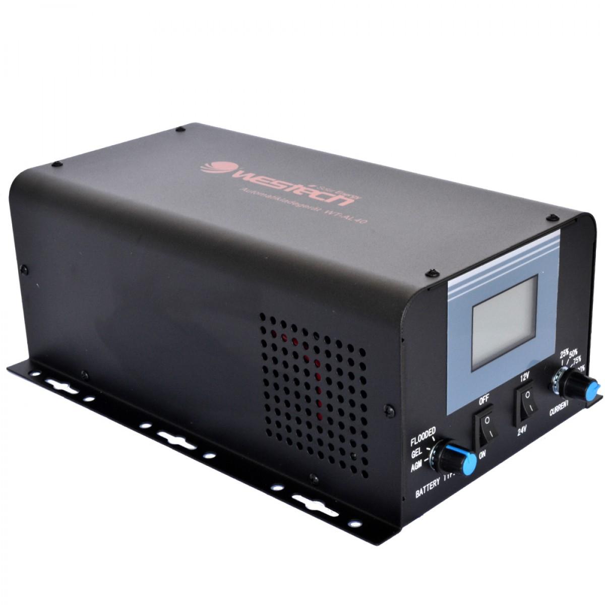 Φορτιστής Ρεύματος WESTECH SC40 12/24V - 40A