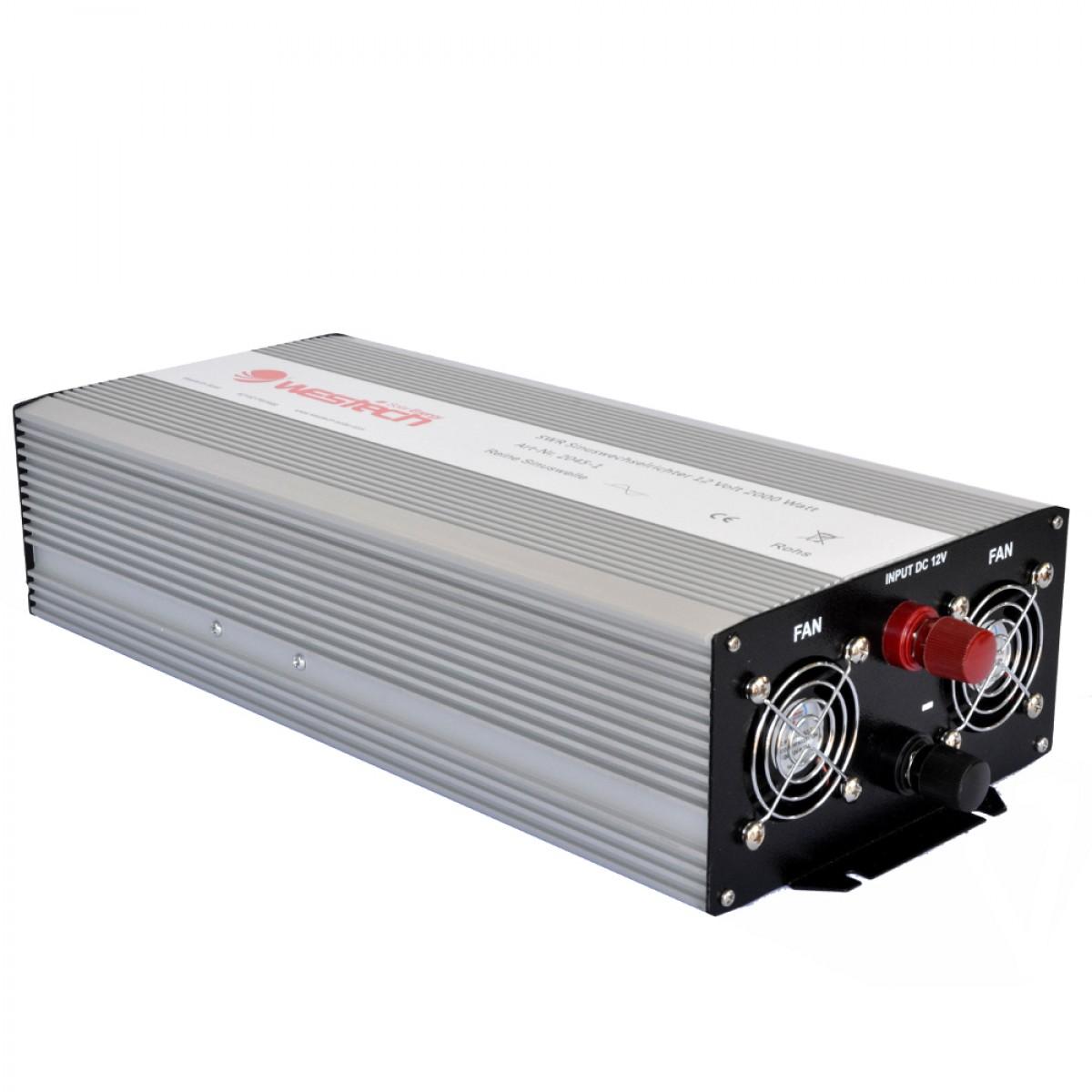 Inverter Καθαρού Ημιτόνου WESTECH-SWR 2.400 VA / 12V