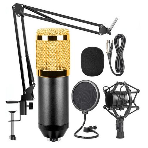 BM-800 Πυκνωτικό μικρόφωνο με βάση στήριξης
