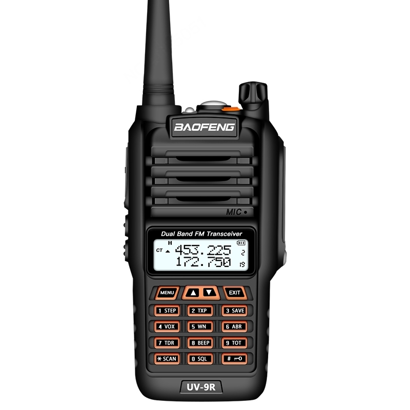 BaoFeng BF-UV9R 5W Dual Band Radio Handheld Antenna Walkie Talkie, EU Plug