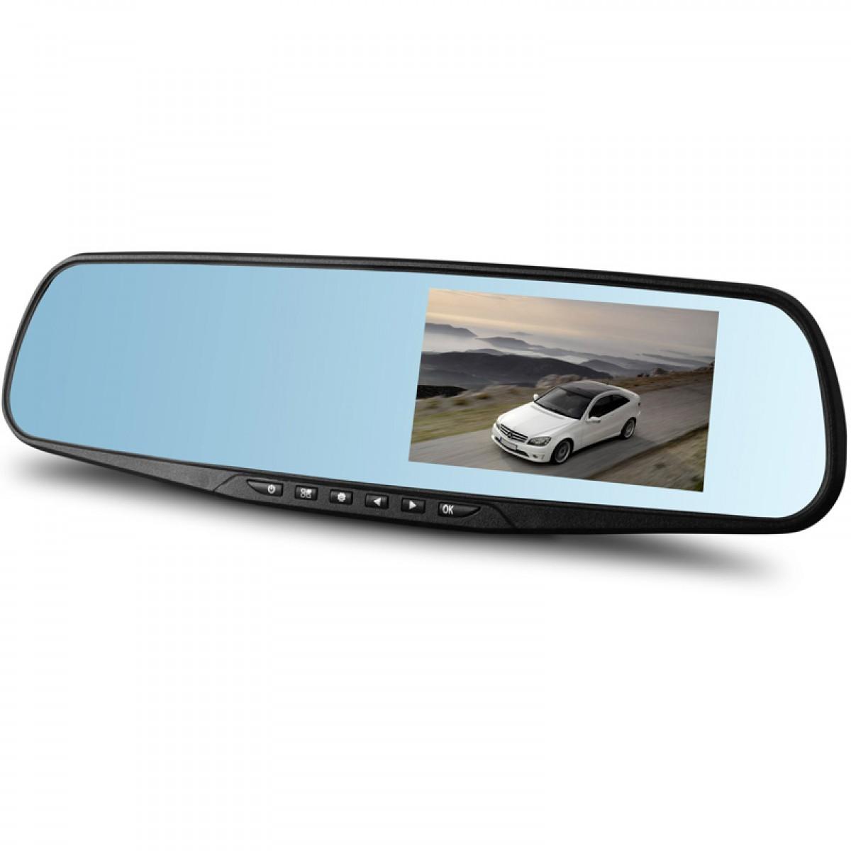 Καθρέπτης Αυτοκινήτου Full HD DVR Κάμερα Καταγραφικό με Οθόνη 3'' & Κάμερα Οπισθοπορείας-OEM