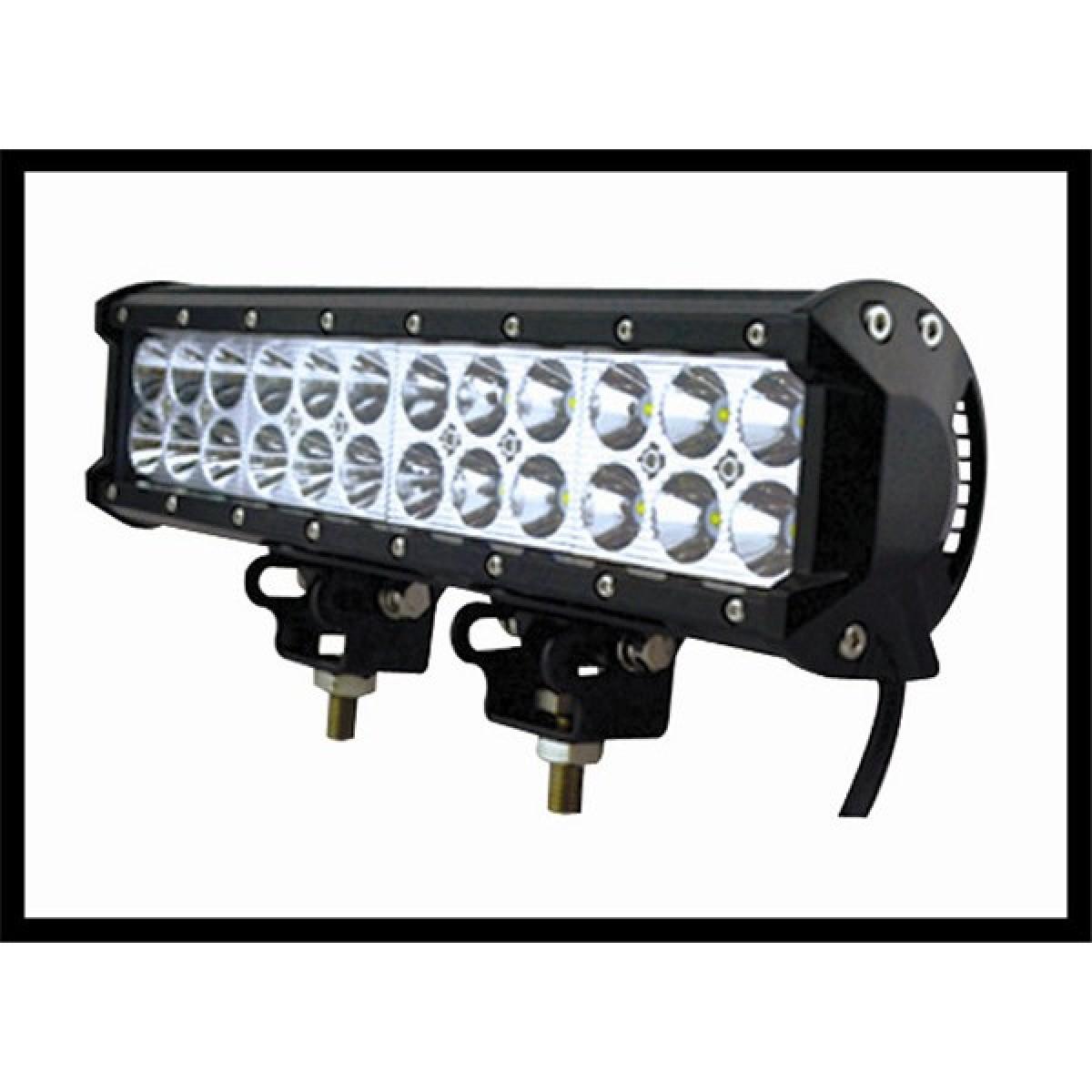 Μπάρα προβολέας LED 72W 30° δουλεύει από 12V έως και 32V για βάρκες τρακτέρ φορτηγά αυτοκίνητα