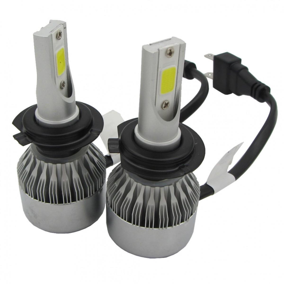 LED Φώτα Αυτοκινήτου H7 6000K