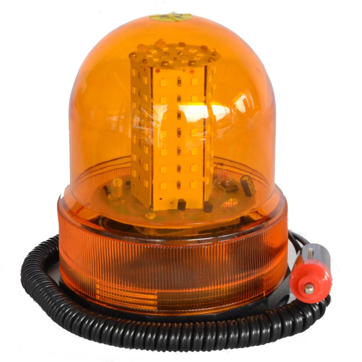 Φάρος LED 12V Μαγνητικός(Δείτε video)
