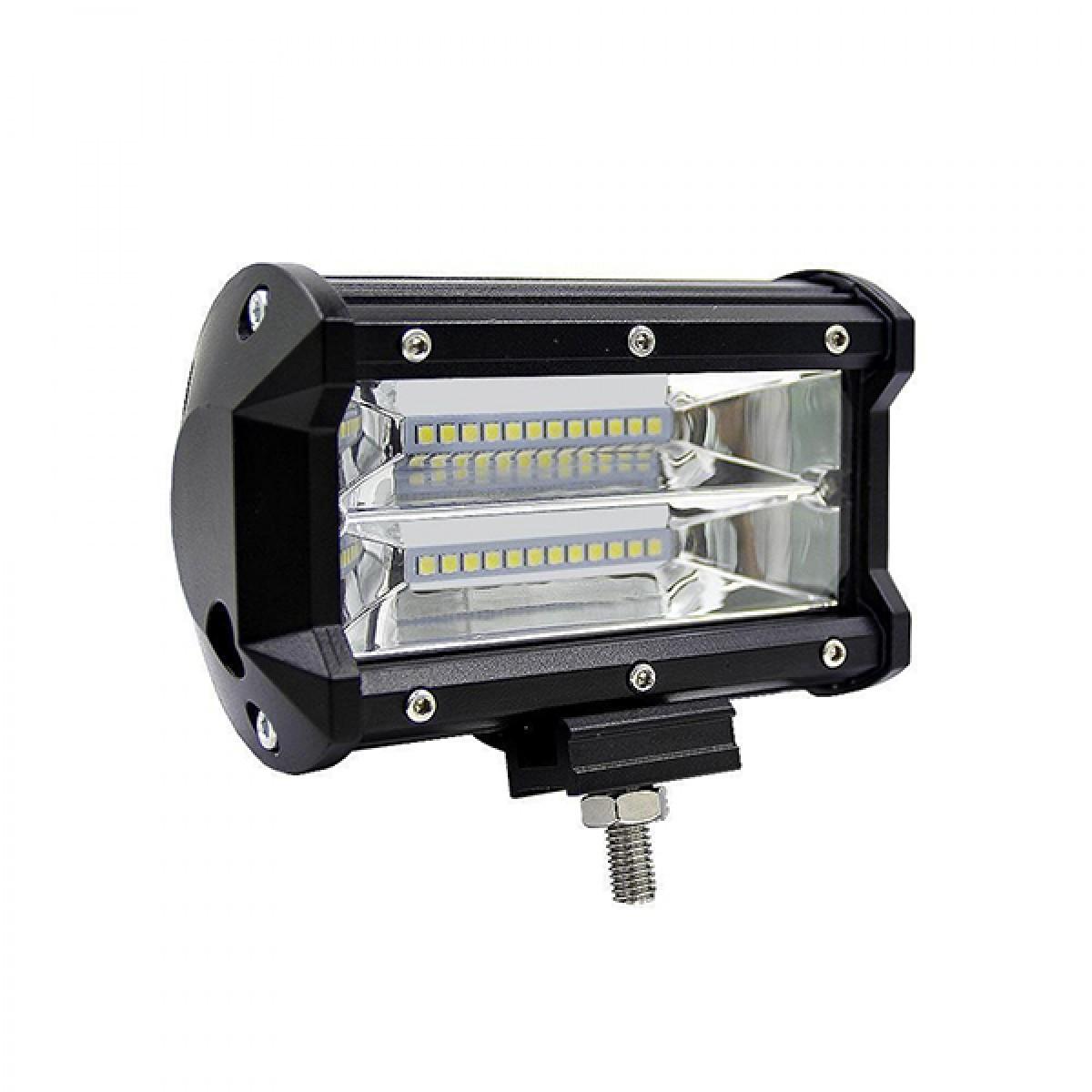 LED αδιάβροχος προβολέαςμπάρα 24 SMD 72W 10~30V