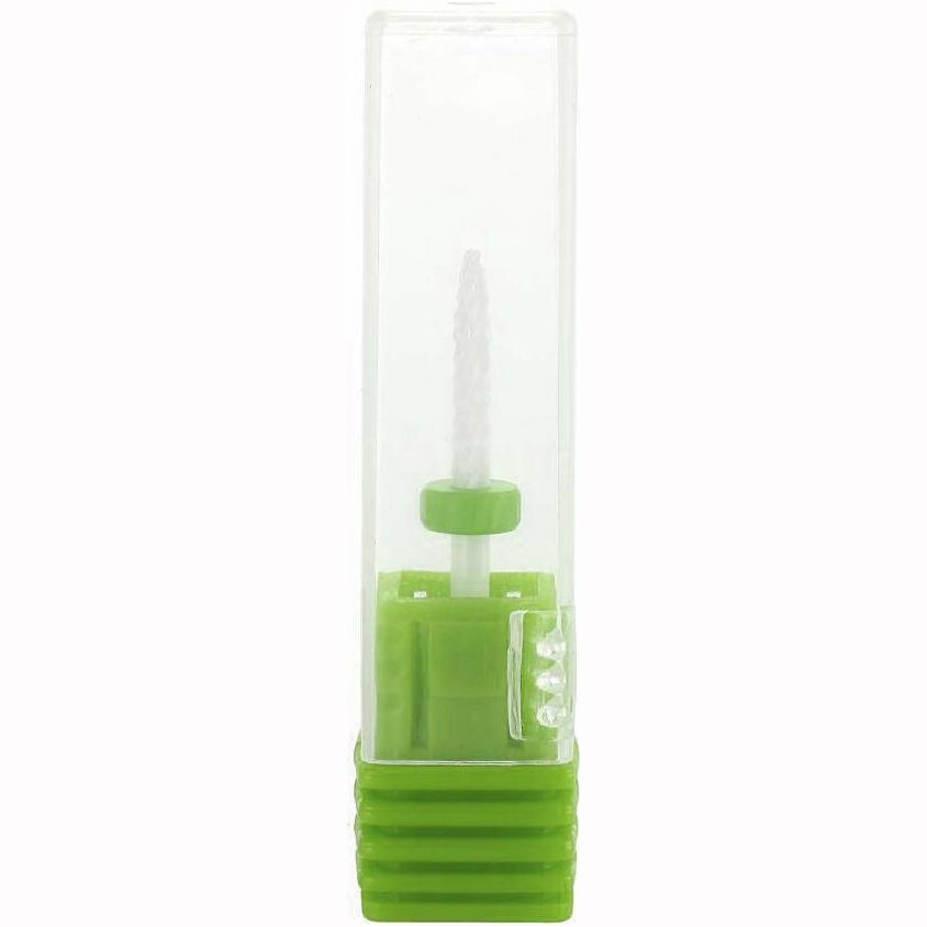 Κεραμική Φρέζα Ευθεία με οβάλ μύτη Πράσινο