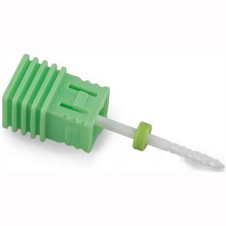 Κεραμική Φρέζα Ευθεία ελαφρώς μυτερό Πράσινο