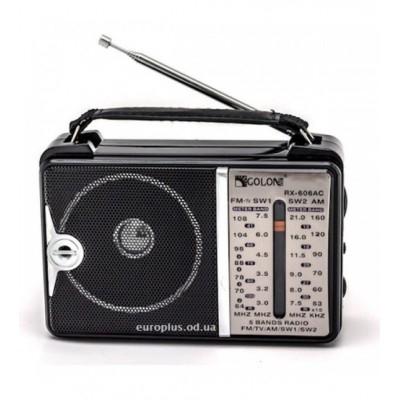Ηλεκτρικό Φορητό Ραδιόφωνο – OEM Golon RX-606AC