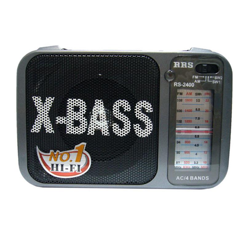 Φορητό αναλογικό ραδιόφωνο FM/AM RRS RS-2400 ΟΕΜ