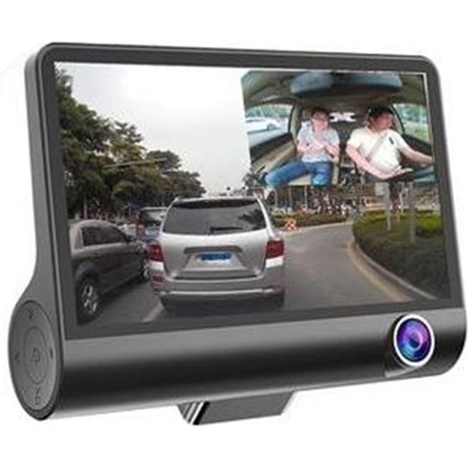 WDR Car Dual Dvr Lens Camera