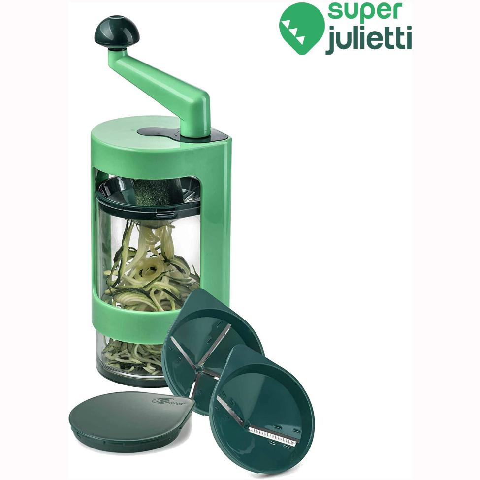 Χειροκίνητος πολυκόφτης λαχανικών σπιράλ Super Julietti
