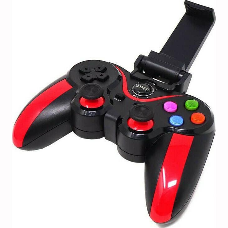Ασύρματο χειριστήριο Bluetooth Gamepad FOYU FO-613 Κόκκινο