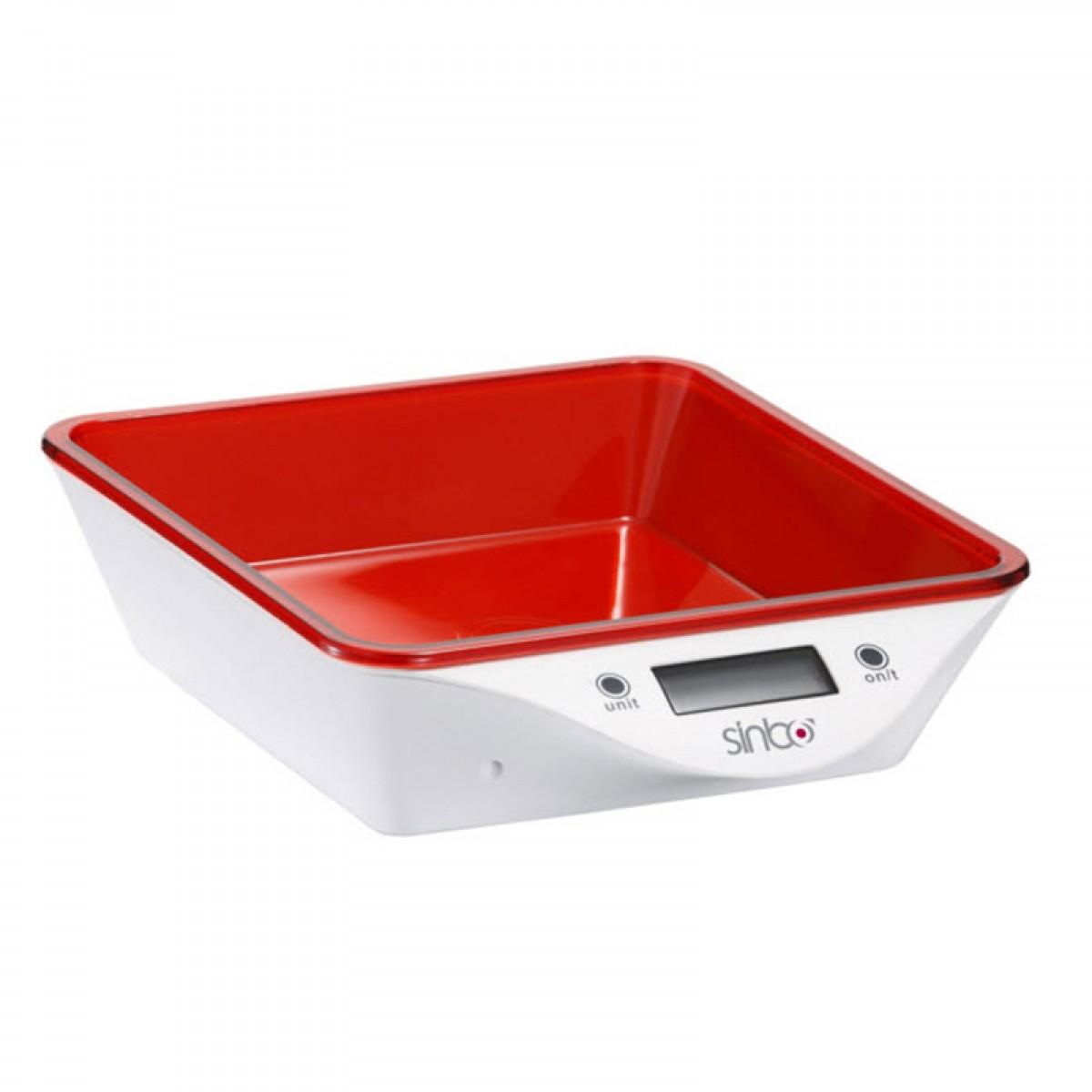 Ζυγαριά κουζίνας επαγγελματική ψηφιακή Sinbo SKS-4520 5kg
